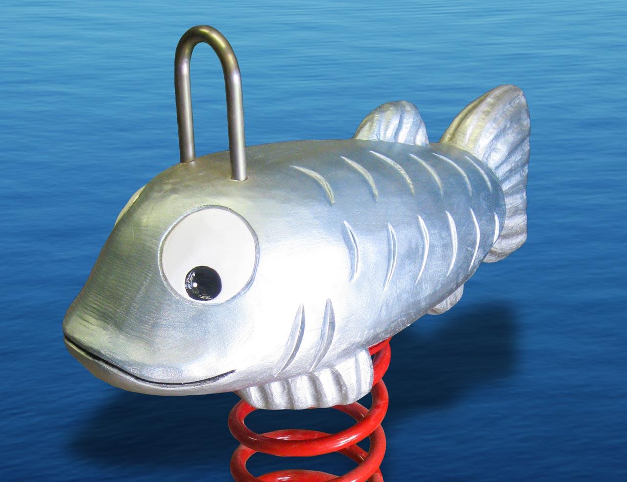 P 98 Federwipper Silberfisch | Wackelfisch