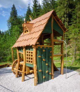 Waldspielplatz, Inzell, Bayern