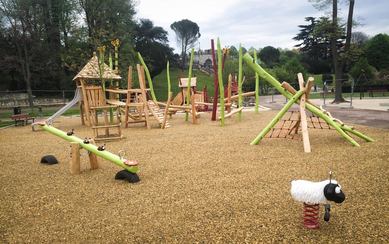 Parc Jouvet Valence, Frankreich