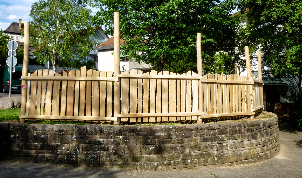 R 85 Zaun für Spielplatz, Kita, Kindergarten, Schule