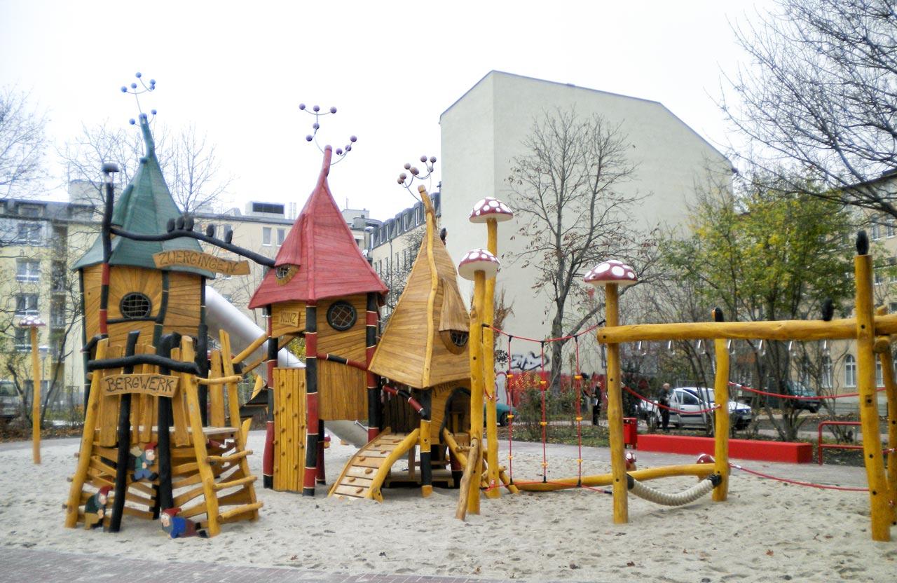 T 31 Spielanlage Spielburg Zwergingen