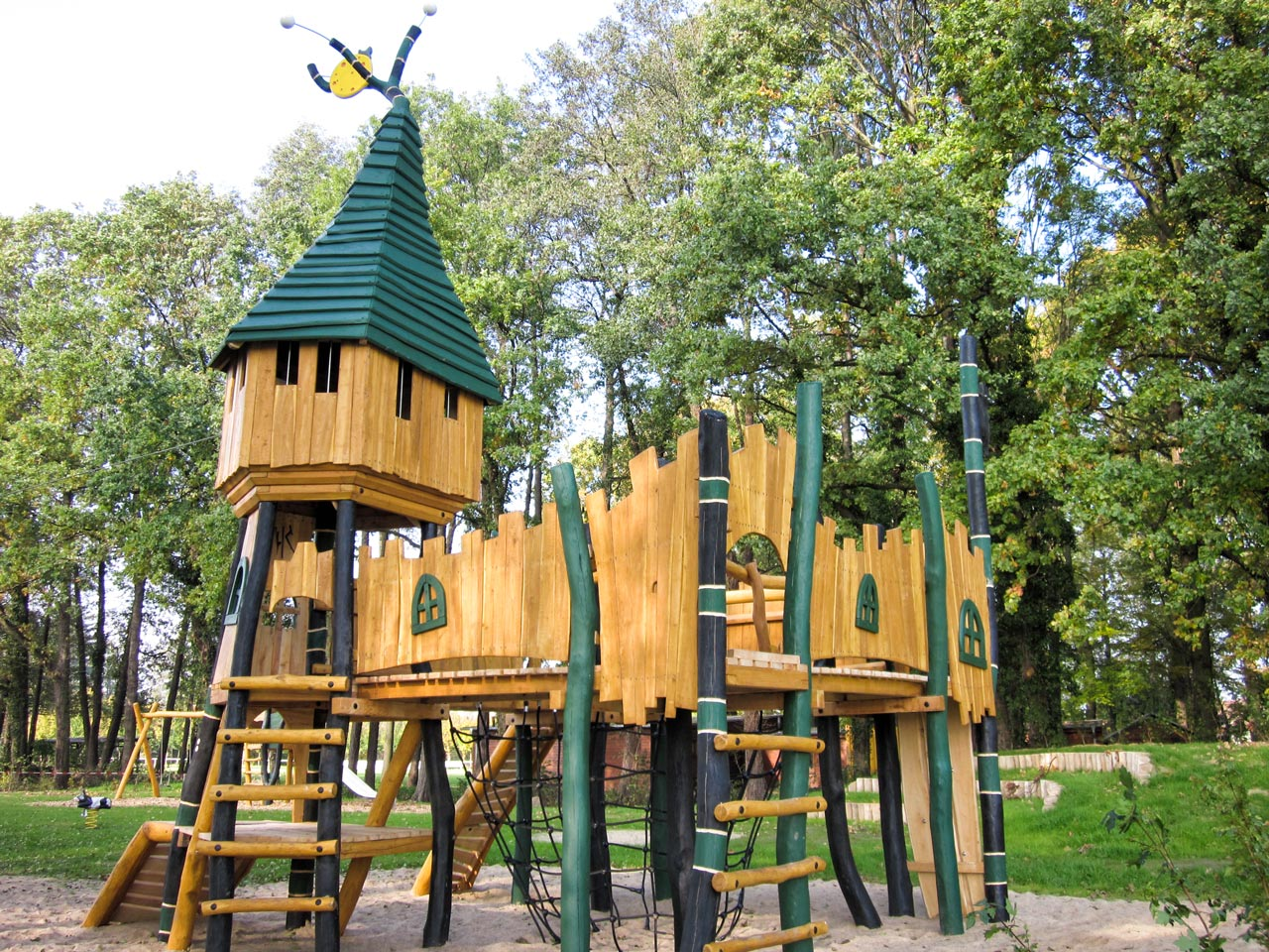 T 40 Zauberschloss Spielplatz