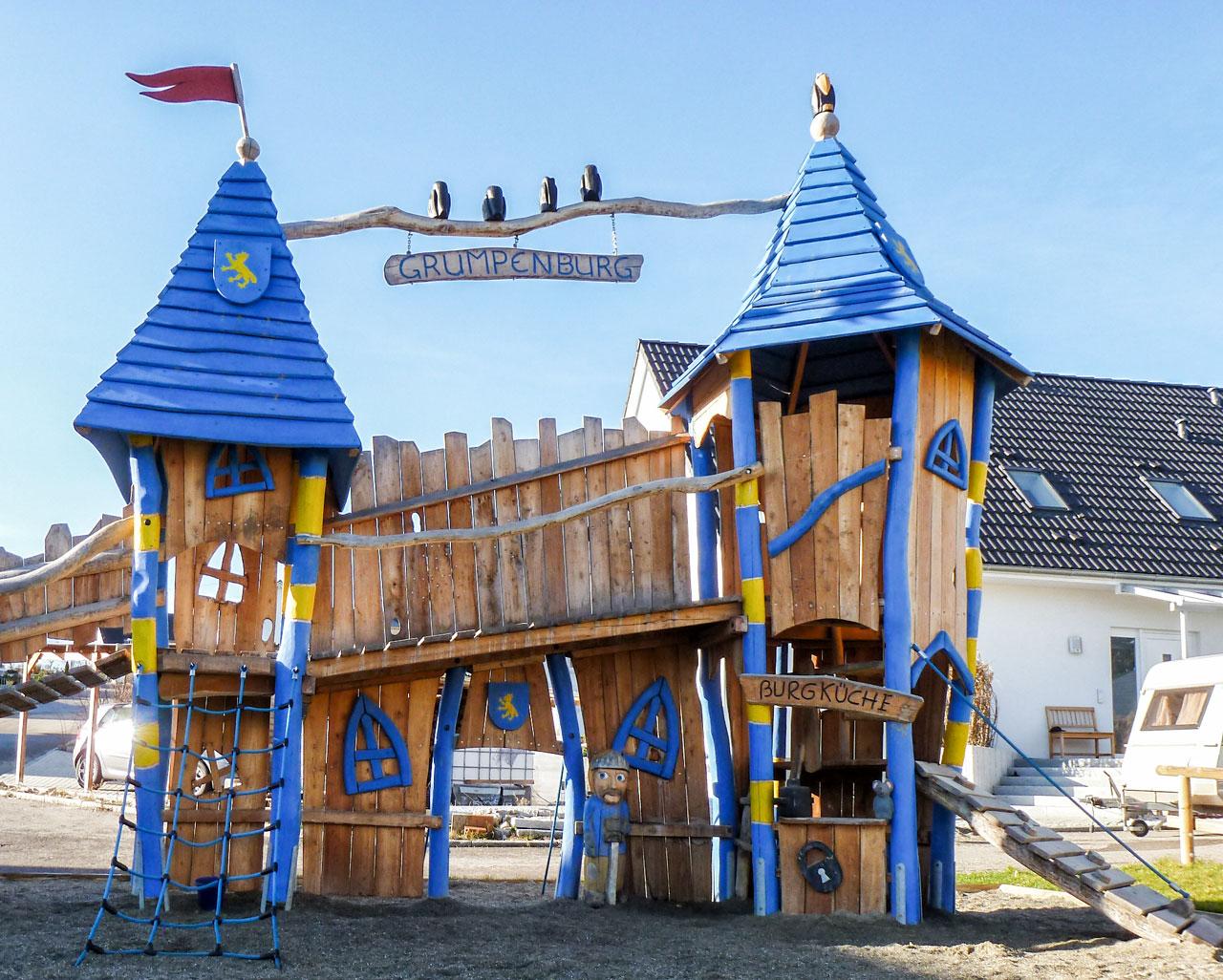 T 41 Grumpenburg Burganlage
