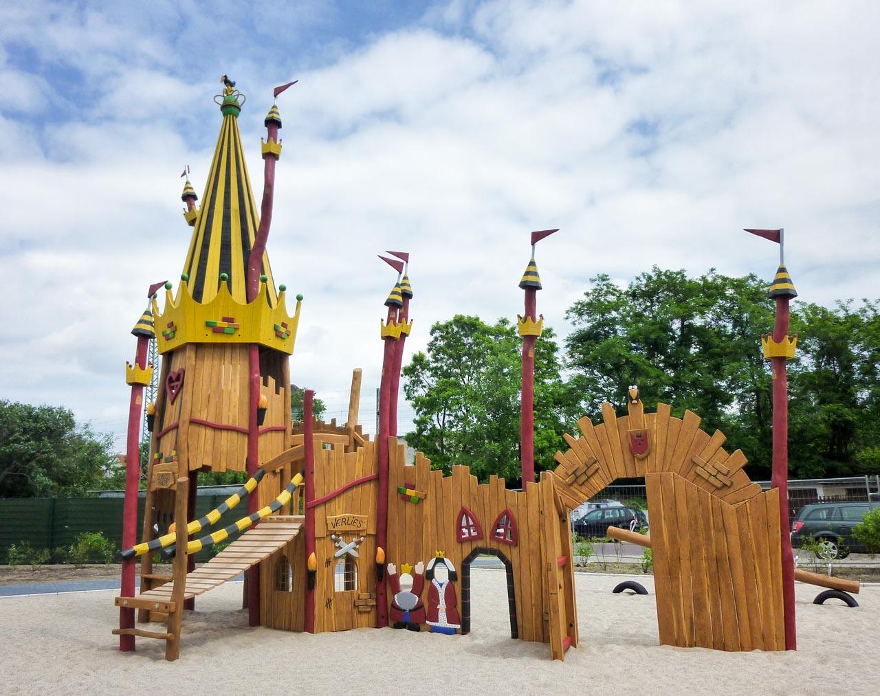 T 68 Spielplatz kleines Königreich