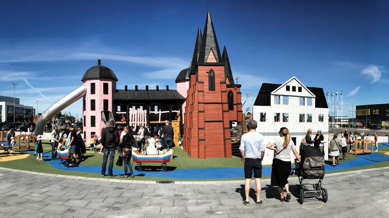 Lilla Uppsala, Gränby, Schweden