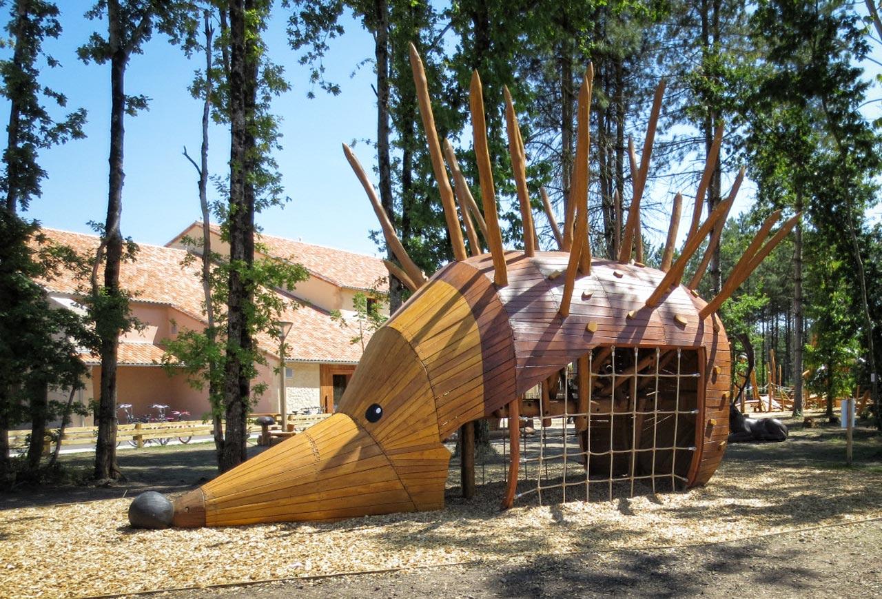 Spielplatz Igel Ivan, Vienne, Frankreich