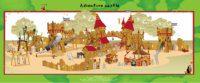 Entwurf Zeichnung Projektplanung Spielgeräte Themenspielplätze
