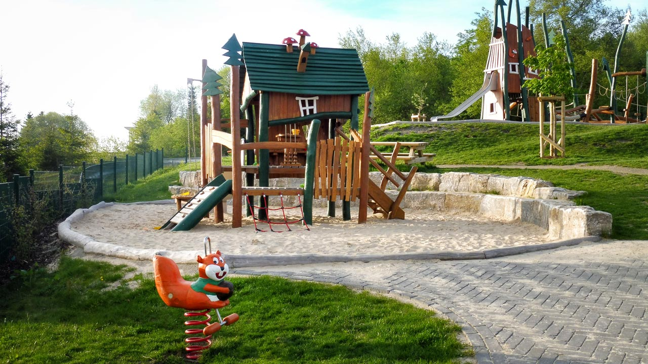 Themenspielplatz, Erlebnisberg Kappe, Winterberg